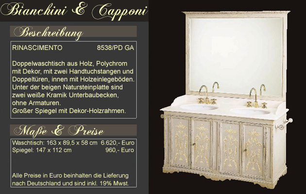 italienische badm bel mediterrane badezimmer von. Black Bedroom Furniture Sets. Home Design Ideas