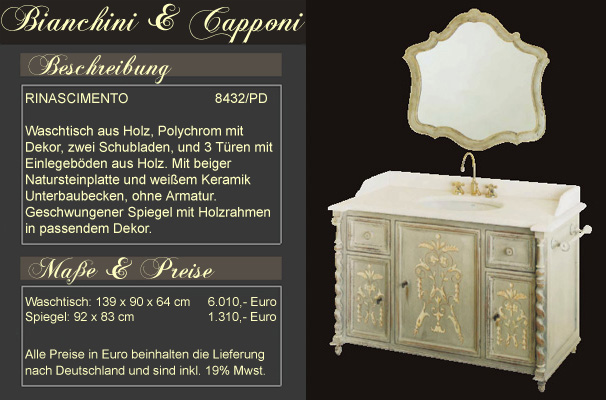 italienische badm bel mediterrane badezimmer von. Black Bedroom Furniture Sets. Home Design Ideas